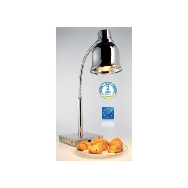 Sofraca Lampe Chauffante Sur Pied Chromee 250 W Pas Cher