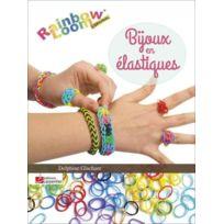 Editions Carpentier - bijoux en élastiques ; rainbow loom