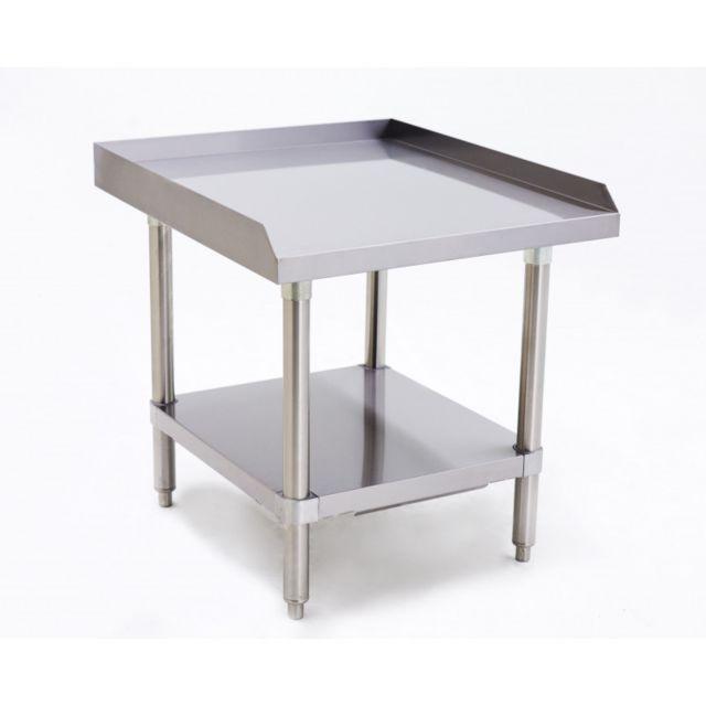 Atosa Table Inox Pour Grill Pierres de Lave - L 615 à 1225 mm 610 mm