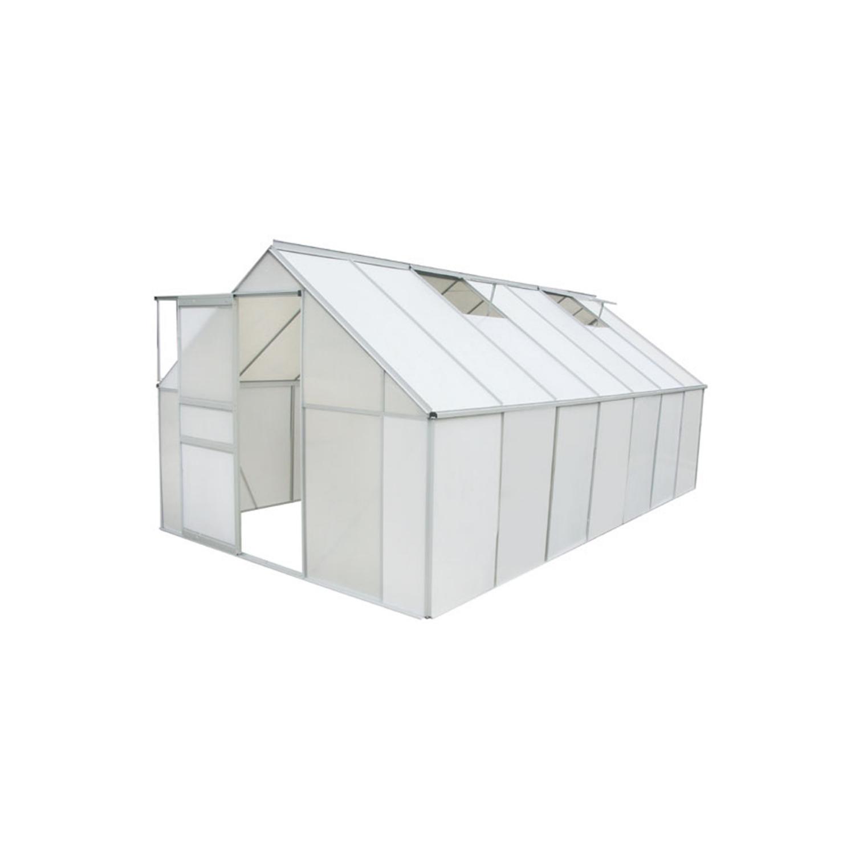 Vidaxl - Serre 10,75 m² Alu & polycarbonate