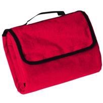 James & Nicholson - Plaid couverture polaire pique-nique 130 x 150 - Jn953 - rouge