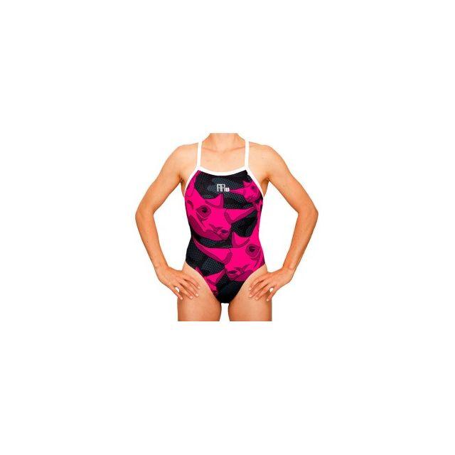 Mako Mako Aumakua Rhino Pink Swimsuits