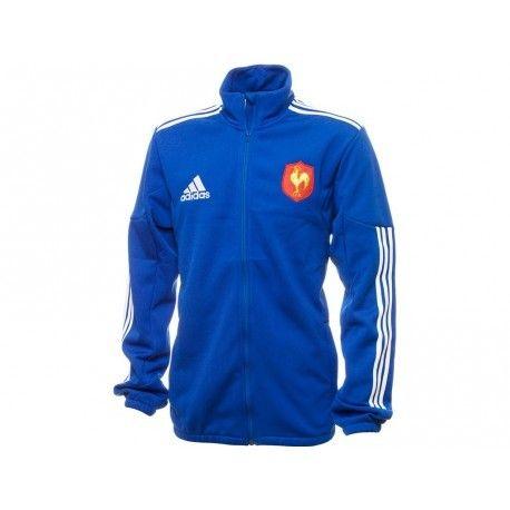 Achat Parka Equipe de France Rugby Adidas pas cher | Espace
