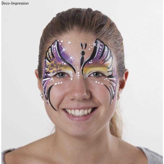 Paint Me Pochoir De Maquillage Pour Enfant Papillon Pas Cher