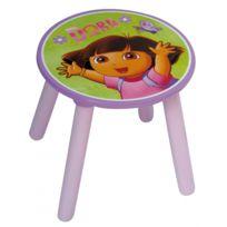 Dora l'Exploratrice - Tabouret pour table de jeu ou bureau pour enfant