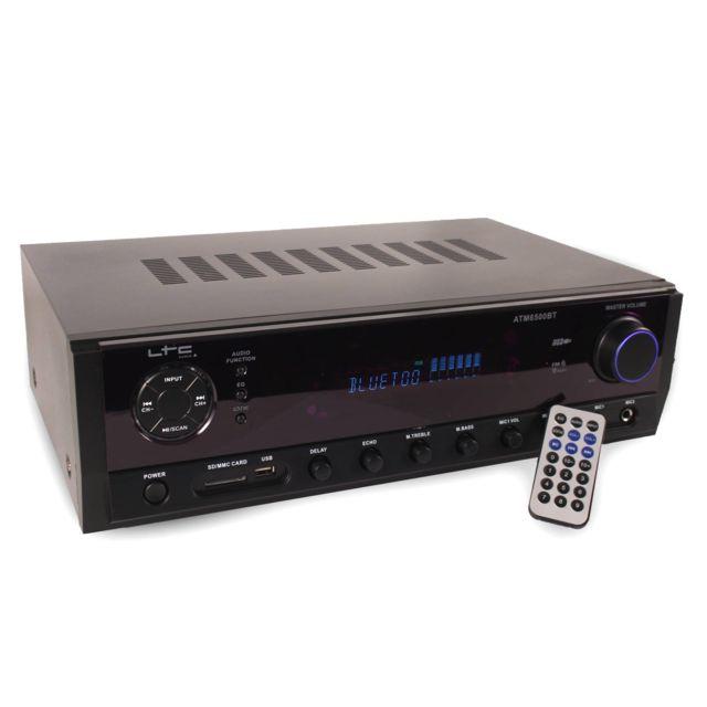 Ltc Ampli Hifi Stereo Karaoke 2x50W + 3x20W