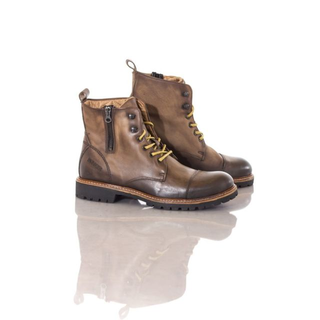 8d18505a312 Bunker - Boots   bottes Job -ad2 moro - pas cher Achat   Vente Boots homme  - RueDuCommerce