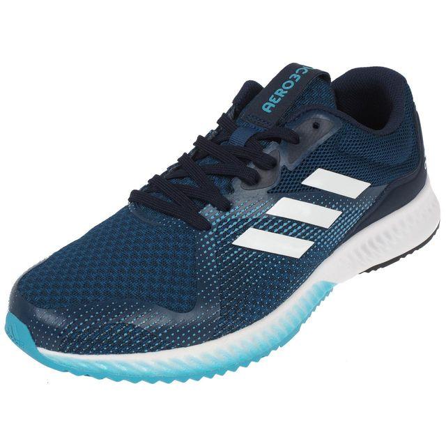 hot sale online ddff2 d52ec Adidas - Chaussures running Adidas Aerobounce racer Bleu 74903