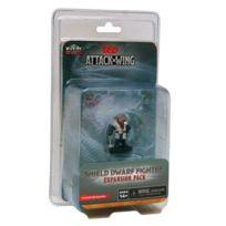 Wizkids - Jeux de société - Dungeons & Dragons Attack Wing : Vague 6 Shield Dwarf Fighter