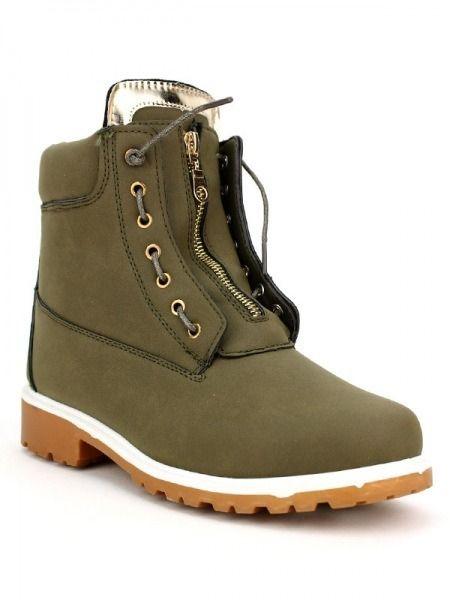 3a28a01c0dbf18 Cendriyon - Boots Camper'S Kaki Zip 39 - pas cher Achat / Vente ...