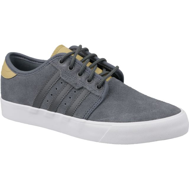 new styles 43cf4 39555 Adidas - Seeley Db3143 Gris - pas cher Achat  Vente Baskets homme -  RueDuCommerce