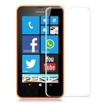 Cabling - Protection écran en Verre trempé 0,26 mm pour Nokia Lumia 630 635 haute transparence et ultra résistant incassable, inrayable 9H, et Ultra Slim 0,26mm, avec bords arrondis