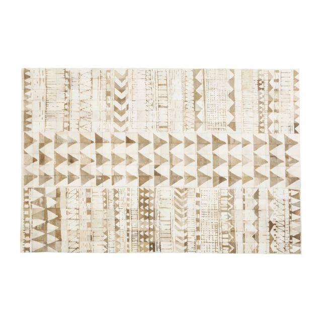 Karedesign - Tapis Hieroglyphics square 240x170cm Kare Design Beige