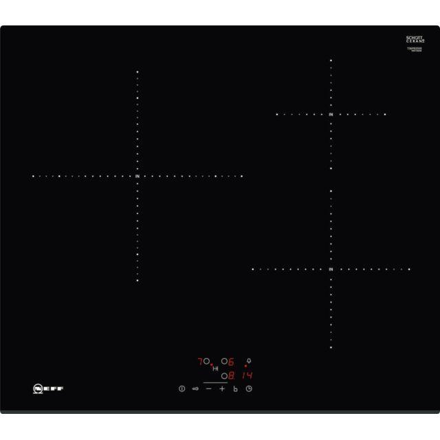 neff table de cuisson induction 60cm 3 feux 4600w noir t36fb20x0 achat plaque de cuisson. Black Bedroom Furniture Sets. Home Design Ideas