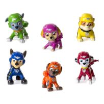Spin Master - Figurine Pat'Patrouille PAW Patrol, : Air Pup Buddies : Pack 6 figurines