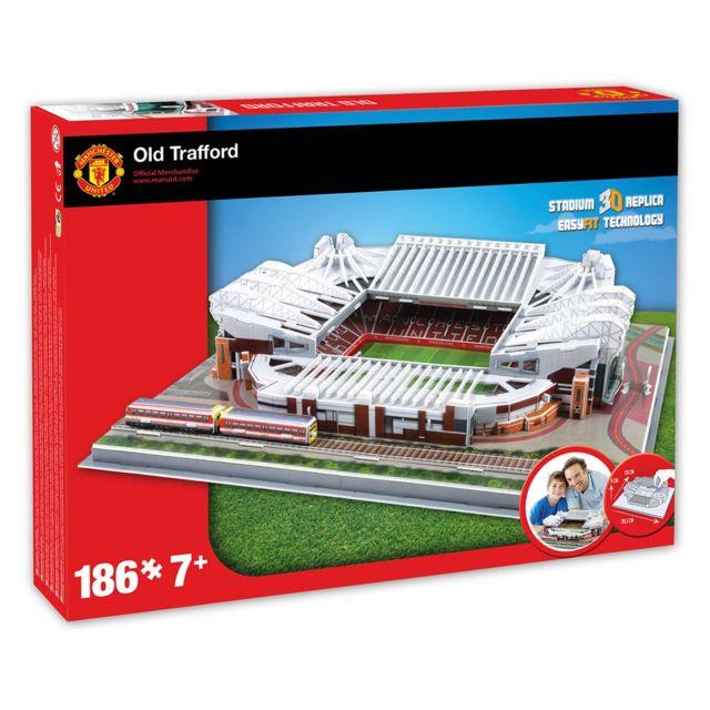 MEGABLEU Puzzle 3D 186 pièces : Stade de foot : Old Trafford Manchester United
