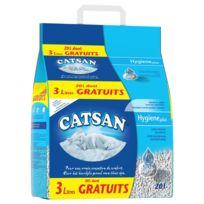 Catsan - Hygiene Plus - 20L dont 3L Gratuit