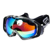 Cairn - Masque de ski double écran Freedom nr/blc miroir c3 Noir 53139