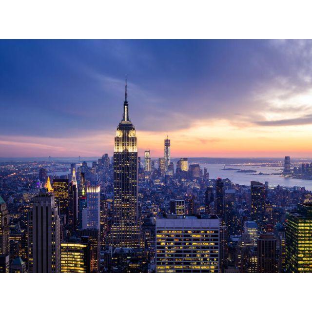 Bebe Gavroche Papier Peint New York de nuit 360x270 cm