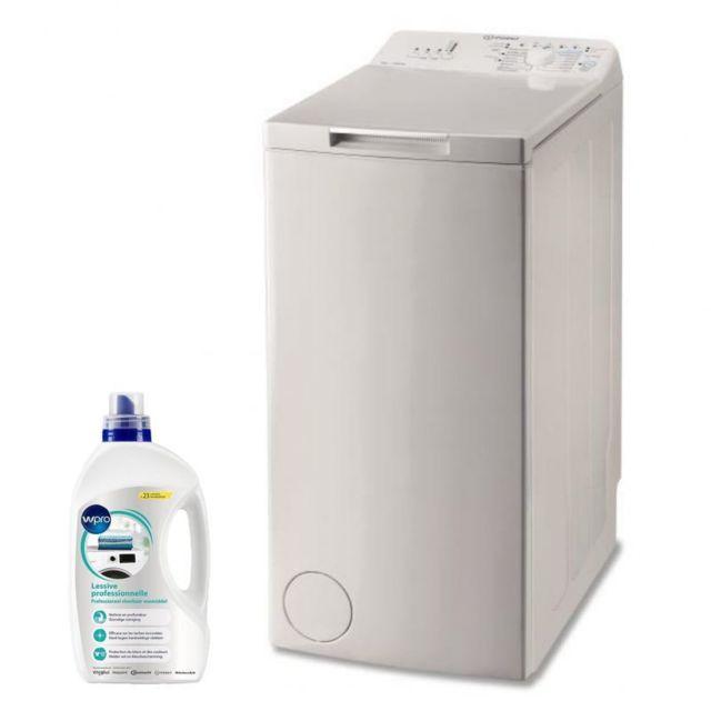 Indesit Lave-linge top 6kg 1000trs/min A+++ Tambour 42L Turn & Wash Machine à laver