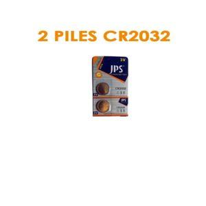 jps blister de 2 piles cr2032 ultra longue duree pas cher achat vente piles standard. Black Bedroom Furniture Sets. Home Design Ideas