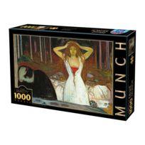 Dtoys - Puzzle 1000 pièces : Edvard Munch : Cendres