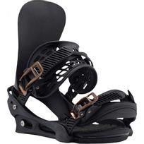 Burton - Fixations De Snowboard X-base Black Mag Homme