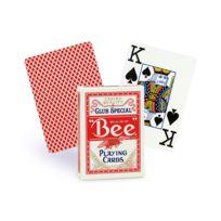 Bicycle - Cartes Bee poker jumbo rouge