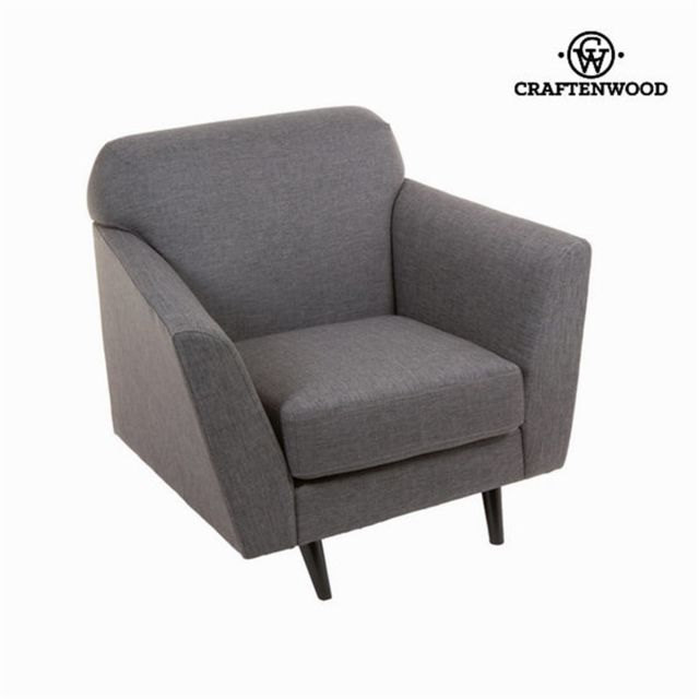 Craftenwood Fauteuil abbey gris - Collection Love Sixty by