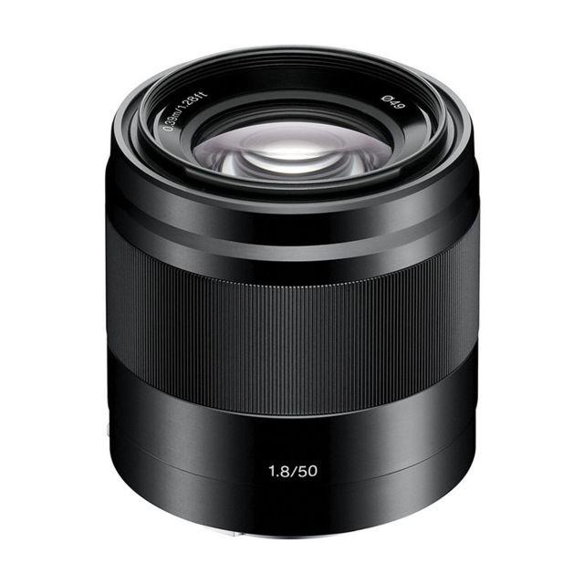 Sony Objectif Sel E 50 mm f/1.8 Oss Noir Garanti 2 ans