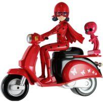 MIRACULOUS LADYBUG - Ladybug et son scooter - 39880