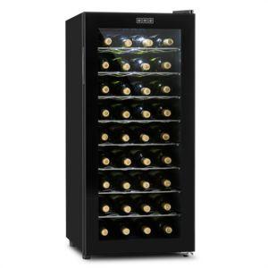 klarstein vivo vino cave vin thermo lectrique 36 bouteilles 118l pas cher achat vente. Black Bedroom Furniture Sets. Home Design Ideas