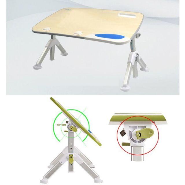 Generic Support Table De Bureau Portatif Pliable Pour Ordinateur