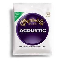 Martin - M170 - Jeu de cordes Extra light 10-47 Guitare acoustique