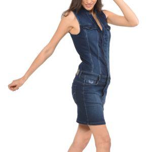 Kaporal 5 , Kaporal , Femme , Robe en jeans sans manches Eva été 2016