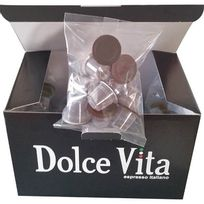 Dolce Vita - pack de 50 capsules de café compatible nespresso - capsule n cafe vanille x50