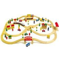Equilibre et aventure - Chemin de fer «Voie ferrée élevée» 101 pièces