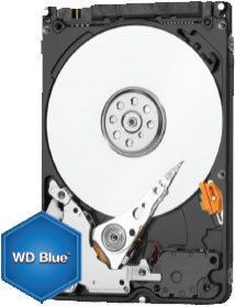 WESTERN DIGITAL Disque dur interne Mobile Blue 2.5 1 To Disque dur interne Mobile Blue 2.5 1 To SATA 128 Mo