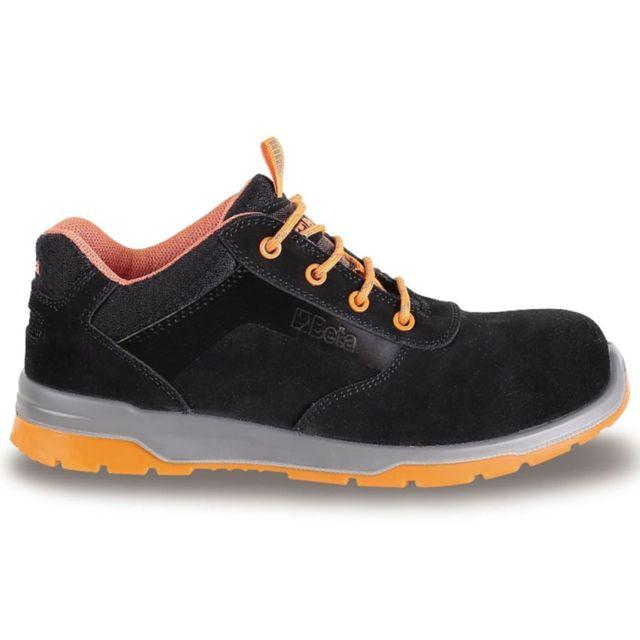 Beta Tools - chaussures de sécurité 7316N daim pointure 42 073160542 Noir 7f88e65ebe80