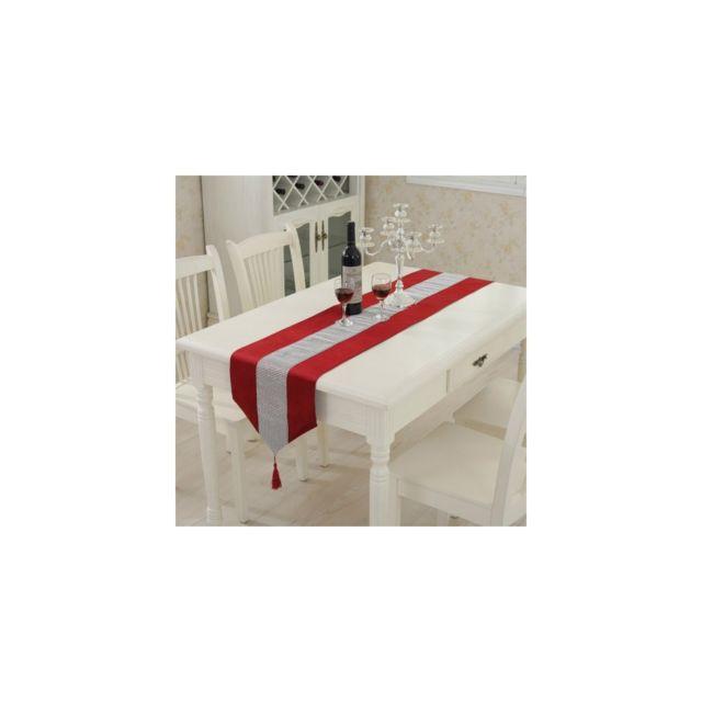 auto hightech nappe moderne chemin de table de luxe avec. Black Bedroom Furniture Sets. Home Design Ideas