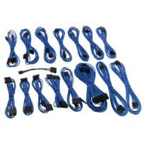 CableMod - Kit de câbles gainés E-Series G2 / P2 - BLEU