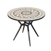 Table Jardin Achat Ronde Pas Mosaique 3qc5j4ARL