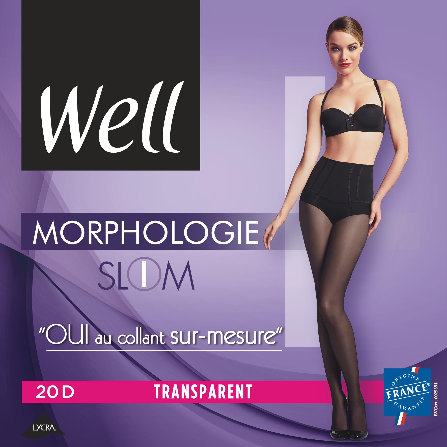 COLLANT MORPHO TRANSPARENT Slim Noir