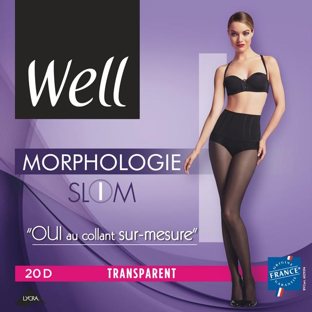 WELL - COLLANT MORPHO TRANSPARENT Slim Noir - pas cher Achat   Vente ... 7357e0c4d5c