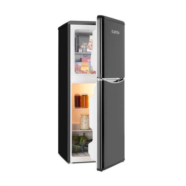 KLARSTEIN Monroe L Combiné réfrigérateur 70l congélateur 38l classe A+ - noir