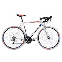 KS CYCLING - Vélo de course 28'' Velocity blanc TC 55 cm