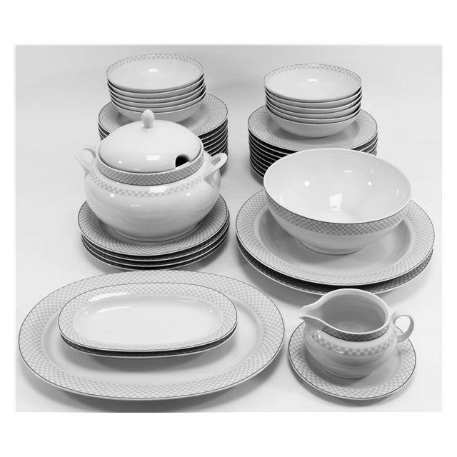 Générique Service De Table Vaisselle En Porcelaine De Baviere Pour