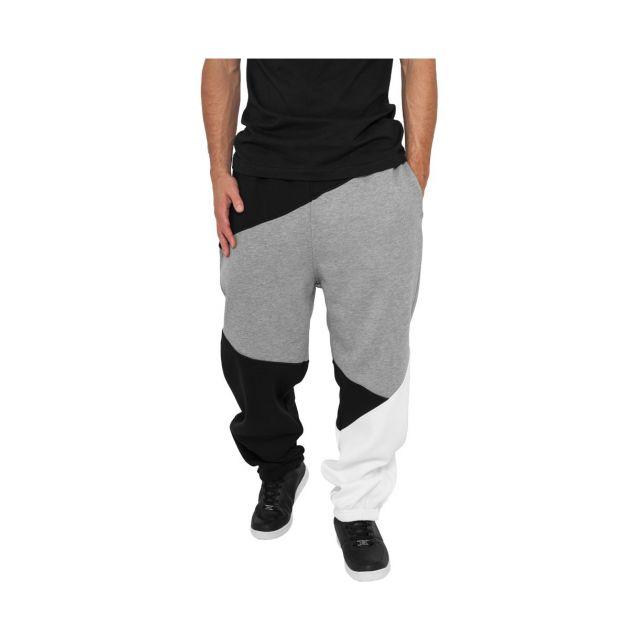 Urban Classics - Bas de jogging Zig Zag Noir   Gris   Blanc - pas cher  Achat   Vente Pantalon femme - RueDuCommerce 651a7b79f78