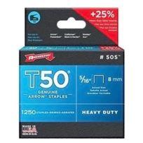 ARROW - lot de 1250 agrafes t50 8mm - 505