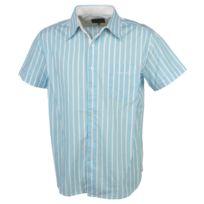 Culture Sud - Chemise manches courtes Deuz bleu ciel mc h Bleu 35987